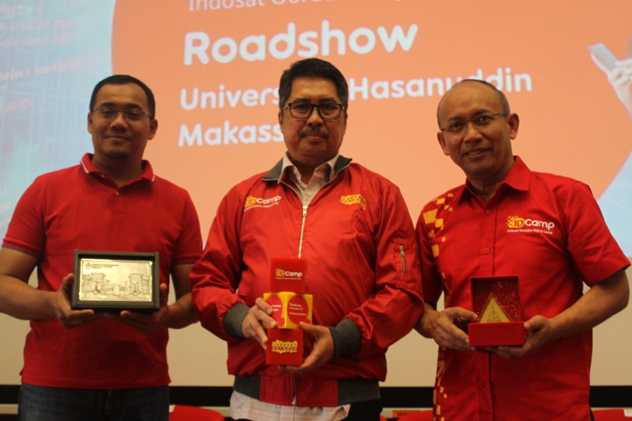 Talkshow di Unhas, IDCamp Indosat Bahas Perkembangan