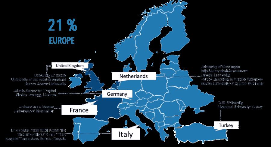 Europe blue 2019